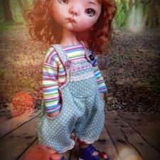 Моя новая куколка. Авторская кукла Кондрашовой Ирины