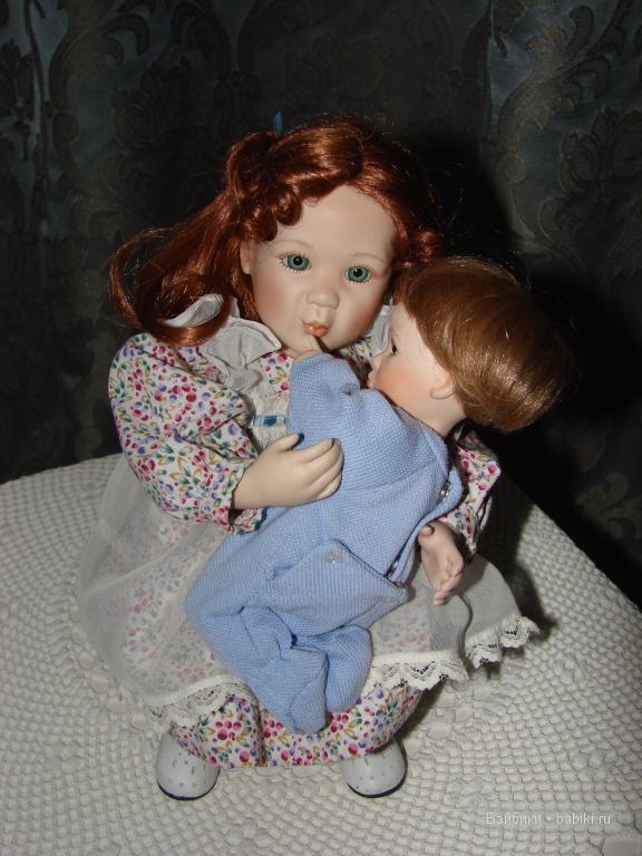 Очаровательные детки. Куклы из фарфора от Эштон Дрейк