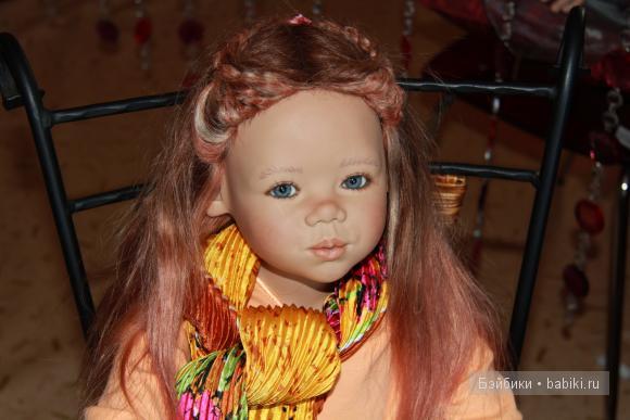 Кукла Типпи из коллекции 2006 года от Аннетты Химштедт