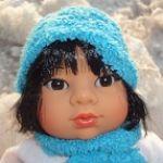 Кукла Таня на прогулке. Кукла Эскимосик испанской фирмы Rauber