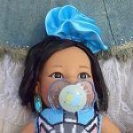 Танюшка на пляже. Кукла из Испании фирмы Rauber