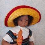 Рикардо, где же твой Рио? Куклы Rotraut Schrott