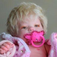 Кукла реборн мини Малышка Ульяна