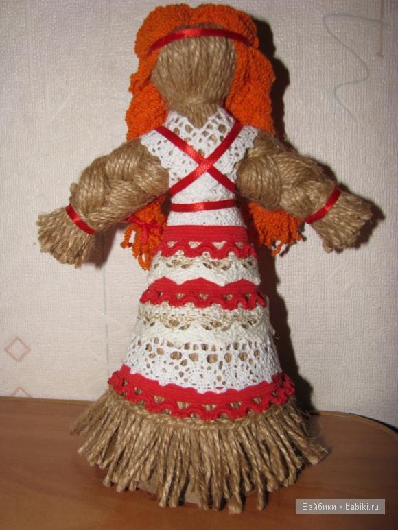 мастер-класс,кукла из бечевки