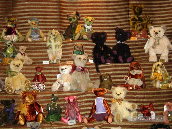 мишки тедди и куклы
