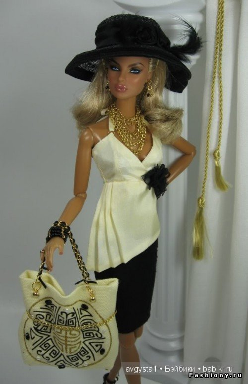 Модная одежда для кукол своими руками