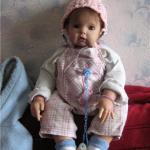 Леночка. Коллекционная кукла Lola от Мария Мишель
