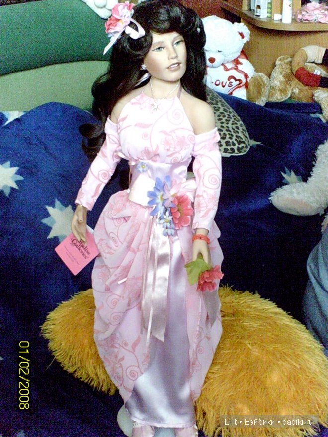 коллeкционная кукла,Donna RuBert