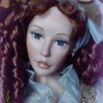 Очаровательная Мишель, фарфоровая кукла от Pat Dezinski