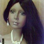 Экзотическая принцесса Жасмин, фарфоровая кукла от William Tung и Christina Barry