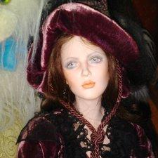 Ведьмочка Ида, фарфоровая кукла от Marigio