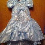 Бальное платье на больших кукол
