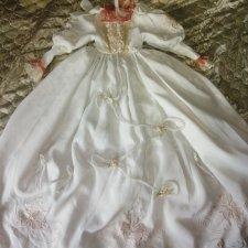 Бальное платье для большой куклы
