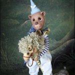 Очаровательный мишка Тed от Liz Frost .