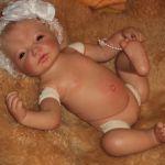 Малышка Ариша. Кукла Катарина от Герлинды Фезер
