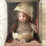 Мишка в яйце от Anne Geddes. Новый в коробке