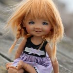 Giggi Meadow dolls tan