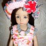 Комплект одежды для виниловой куклы от Дианы Эффнер, 30 см.