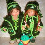 Теплая одежда для вихтелей! Два комплекта и игрушка