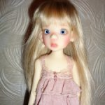 Лайла, девочка, fair skin, 35 см, БЖД от Kaye Wiggs, базовый вариант.