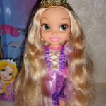Куколка Рапунцель, 35 см. Полный комплект