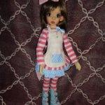 Аутфит от Jpopdolls на кукол БЖД, размера МСД, Kaye Wiggs, Iplehouse
