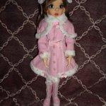 Аутфит зимний от Jpopdolls на кукол БЖД, размера МСД, Kaye Wiggs, Iplehouse
