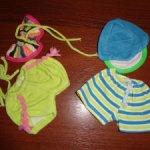 Аутфиты на девочку и мальчика, пупсов 22 см от Paola Reina