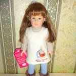 "Виниловая кукла Мередит (Meredith),Gotz (Готц), 2001 год, из серии ""Beatrix Potter"""