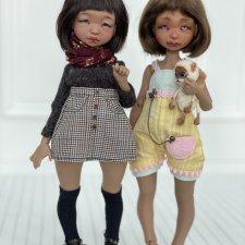 Две шоколадные Люн от dustofdolls