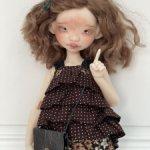 Одежда и 2 парика на куколку аппи от dustofdolls