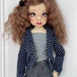 Комплект одежды на куколку Кайе Виггс мсд 6 предметов