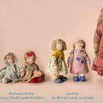 Куклы и аксессуары от супружеской пары Линн и Майкл Роше, Lynne and Michael Roche