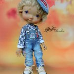 Дж.комбез комплект одежды Meadow dolls/IrrealDoll/Pukifee