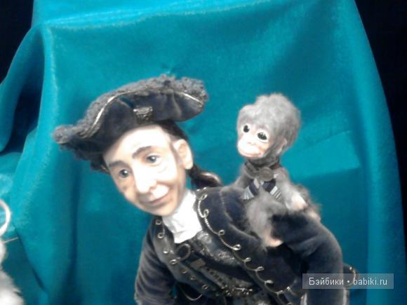 Выставка на Тишинке 2011 Пират и его друг