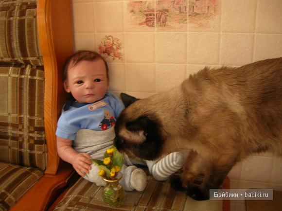 Я и наш котик
