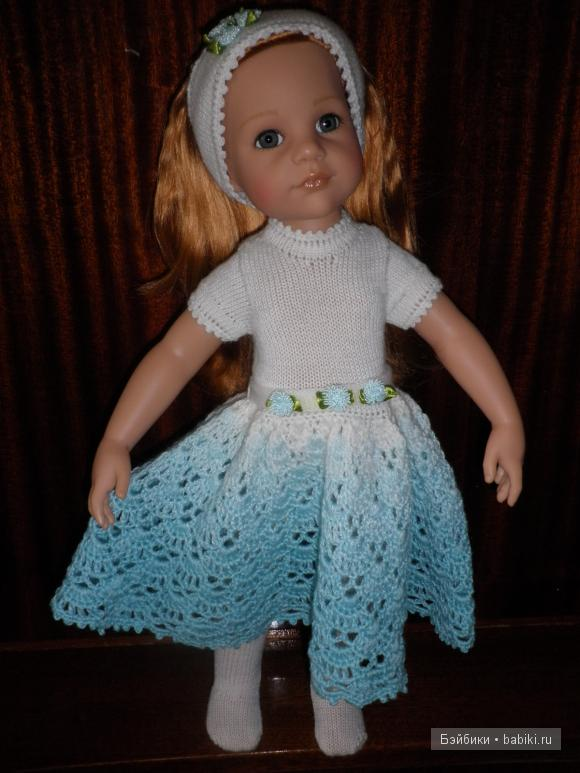Куклы Готц платье