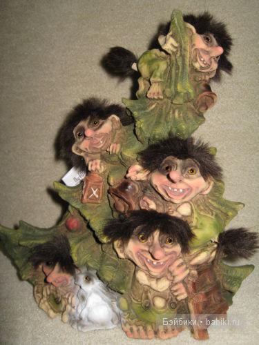 тролли на елке