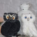 Совята - милые птенцы. Авторские игрушки ручной работы Регины Мельниченко