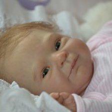 Маленький ангел - Смилла. Малышка реборн от Регины Мельниченко