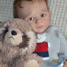 Мой новенький мальчик из молда Moira. Куклы реборн Регины Мельниченко
