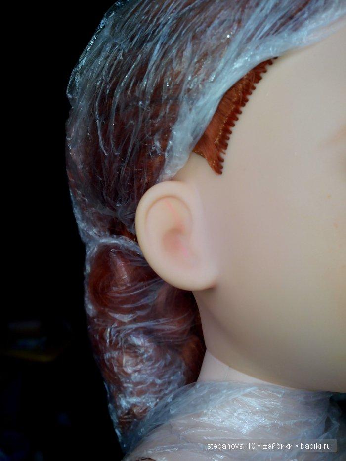 фото дефекта, окрашено розовой пастой,не смогла удалить(((