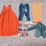 Одежда лотом для Барби пышки