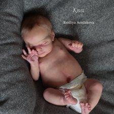 Мой реалистичный малыш реборн из молда Knox. Кукла Эмилии Аредаковой