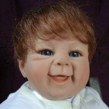 Веня и его сестры, коллекционные куклы Сэнди Файбер Benjamin von Sandy Faber