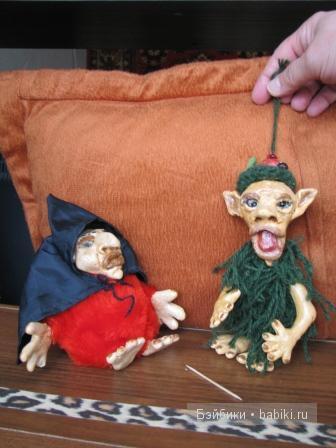 куклы лепные