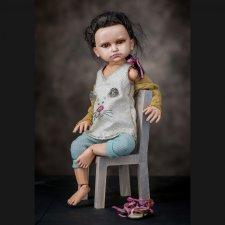 Авторская шарнирная кукла Катя