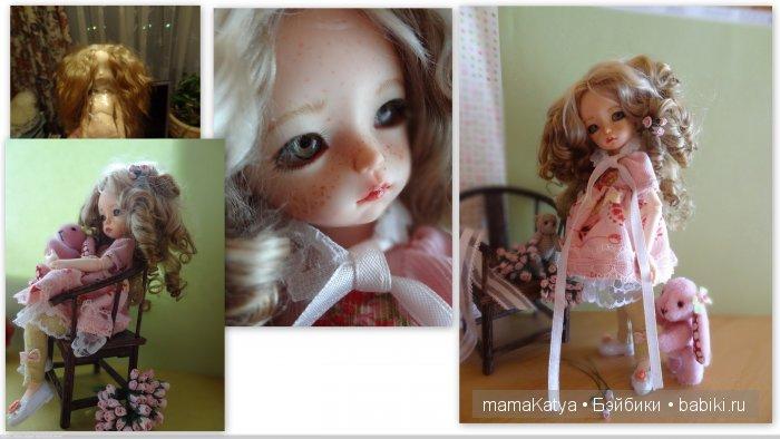 Это первая куколка образ которой полностью сделан мной