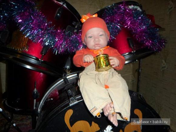 и маленький барабанчик - специально для Ромасика