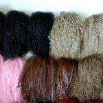 Парики из шкуры ламы и искусственного мохера  размеры 3-4, 4-5, 5-6, 6-7, 7-8, 8-9, 9-10